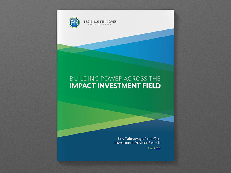 New White Paper on Social Impact Investing